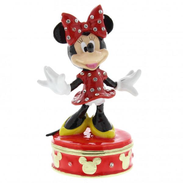 Widdop, Disney by Widdop, DIsney Classic, Walt Disney Disneyfigur, Disney Figur, Minnie Mouse Trinket Box, DI109, Schmuckschatulle, Schmuckkästchen