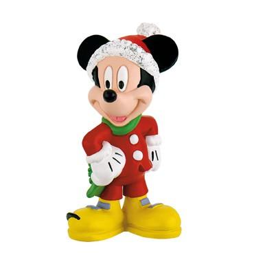 Bullyland, Mickey Mouse, Micky Maus, Weihnachten