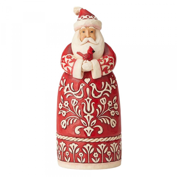Heartwood Creek, Jim Shore, Nordic Noel Santa, Weihnachtsmann, Nordische Weihnachten