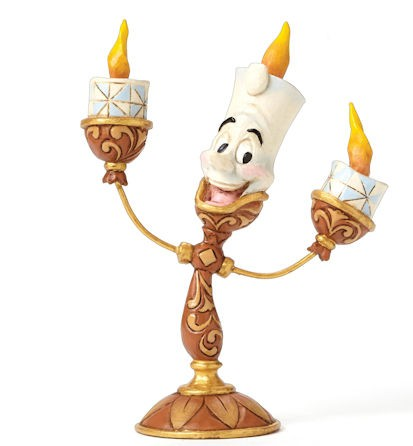 Disney Traditions, Jim Shore - Ooh La La Lumière - Beauty & The Beast