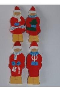 Weihnachtsfiguren für Kranz groß