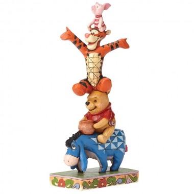 Disney Traditions, Jim Shore - Built By Friendship Winnie Pooh / Winnie Puuh