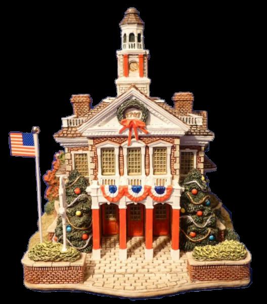 Lilliput Lane, Miniaturhäuser, Miniaturhaus, Cottage, Deck The Halls