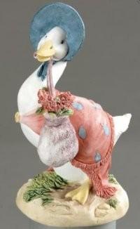 Beatrix Potter, Jemima Puddle-duck with herbs, mit Kräutern
