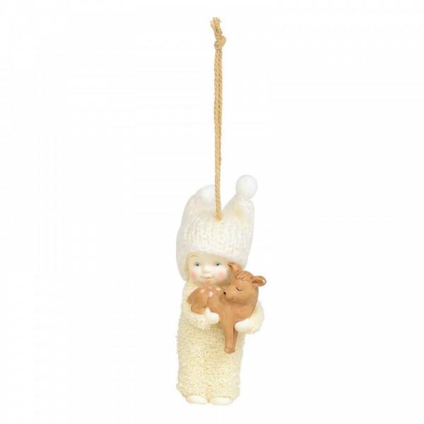 Kristi Jensen Piero, Snowpinions, Snowbabies, Department 56, Peaceful Kingdom Deer, Rentier Ornament, 6003546