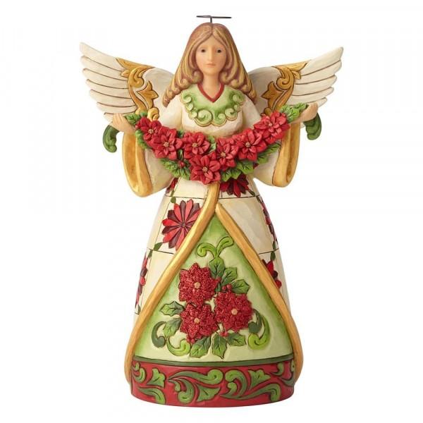 Winter Beauty in Bloom - Angel Weihnachtsstern-Girlande