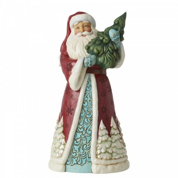 Heartwood Creek, Jim Shore, Everything Glistens In Snow, Alles funkelt im Schnee, Weihnachtsmann, Santa