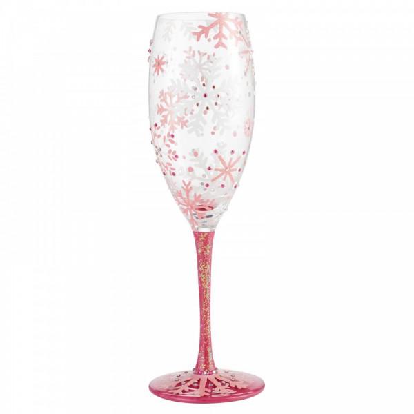 Lolita, Weinglas, Lolita Weingläser, Lolita Gläser, Weinglas, Blushing Snowflakes, Prosecco Glass, Prosecco Glas, Proseccoglas, 6004437, Sektglas