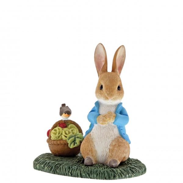 Beatrix Potter, Beatrix Potter Collection, Peter Rabbit, Benjamin Bunny, Flopsy, Jemima Puddle-Duck, Jeremy Fisher, A29192, Peter Rabbit With Basket