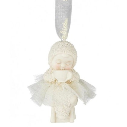 Kristi Jensen Piero, Snowbabies, Department 56, Coffee First Snowbaby Ornament, Anhänger