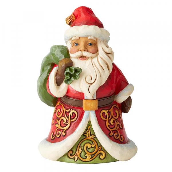 Heartwood Creek, Jim Shore, Be True & Believe Santa, Weihnachtsmann