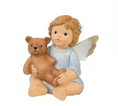 Goebel, NIna und Marco, Nina & Marco, Mein Kuschelfreund, Engel mit Teddy