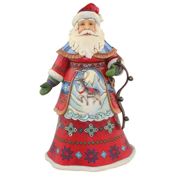 Heartwood Creek, Jim Shore, Joyful Journey, Lapland Santa, Weihnachtmann