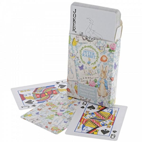 Beatrix Potter, Peter Rabbit, Peter Hase, Spielkarten, Playing Cards, A30015