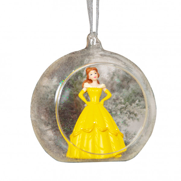 Weihnachtskugel Belle - Beauty & The Beast 3D Christmas Bauble