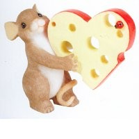 Charming Tails, Maus, Mäuse, Mice, Mouse, It's A Bit Cheesy But I Love You