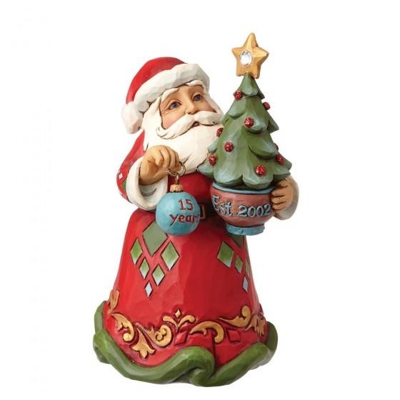 Heartwood Creek, Jim Shore, 15th Anniversary Ornament, Weihnachtsmann, Anhänger