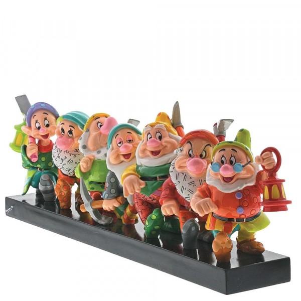 Romero Britto, Pop-Art aus Miami, Snow White, Schneewittchen, Seven Dwarfs, Die sieben Zwerge