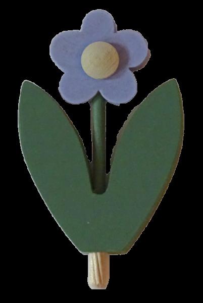 Sebastian Design, Kerzenring, Kerzenringe, Holzkränze, Steckfiguren, Blumen, Blume hellblau