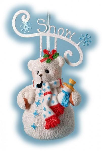 Cherished Teddies, Snow Snowbear, Anhänger, Ornament