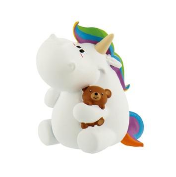 Bullyland, Pummel mit Teddy, Pummeleinhorn, Chubby, Pummel