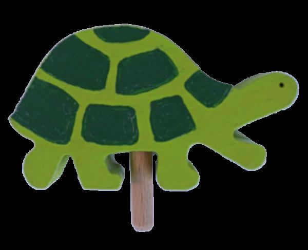 Sebastian Design, Kerzenring, Kerzenringe, Candle Ring, Candlerings, Holzkranz, Steckfigur, Schildkröte grün