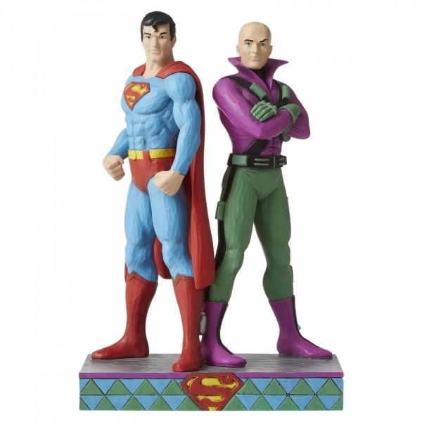 Jim Shore, DC Comics, Heartwood Creek, DC Comics by Jim Shore, Superman and Lex Luthor, Supermann, Clark Kent