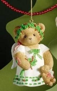 Cherished Teddies, 2008 Bell Ornament Angel, Anhänger, Engel