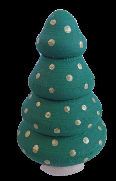 Sebastian Design, Kerzenring, Kerzenringe, Candle Ring, Candlerings, Holzkranz, Steckfigur, Tannenbaum, Tannenbäumchen, blattgrün