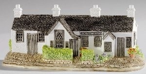 Lilliput Lane, Miniaturhäuser, Miniaturhaus, Cottage, The Old Blacksmith Shop