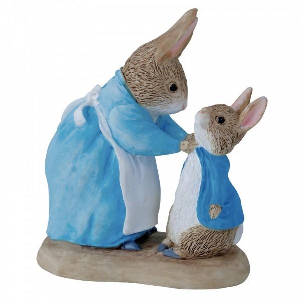 Beatrix Potter, Beatrix Potter Collection, Peter Rabbit, Benjamin Bunny, Flopsy, Jemima Puddle-Duck, Jeremy Fisher, 271780, Mrs. Rabbit and Peter