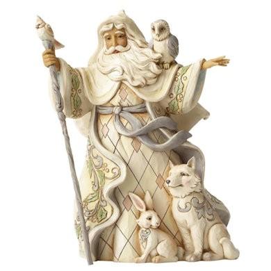 Heartwood Creek, Jim Shore, One Love For All Santa, Woodland Santa, Weihnachtsmann