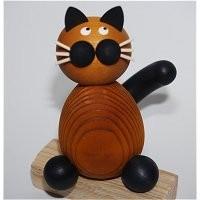 Katze orange / schwarz