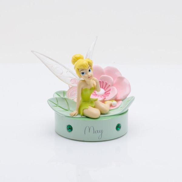 Widdop, Disney, Walt Disney, Tinker Bell, Tinkerbell, Tinkerbell Birthstone Figurine, Mai, Geburtsstein, DI796