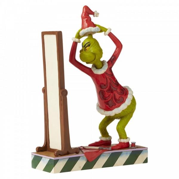 Jim Shore, Heartwood Creek, Jim Shore, Heartwood Creek, The Grinch Collection, Grinch, Grinch Getting Dressed As Santa, Grinch verkleidet sich als Weihnachtsmann, 6006569