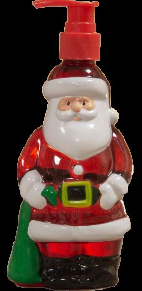 Widdop, The North Pole Novelties by Santa's Workshop, Flüssigseife im Spender, weihnachtliche Seife, Weihnachtsmann-Seifenspender, Seifenspender, XM8501, XM8501d