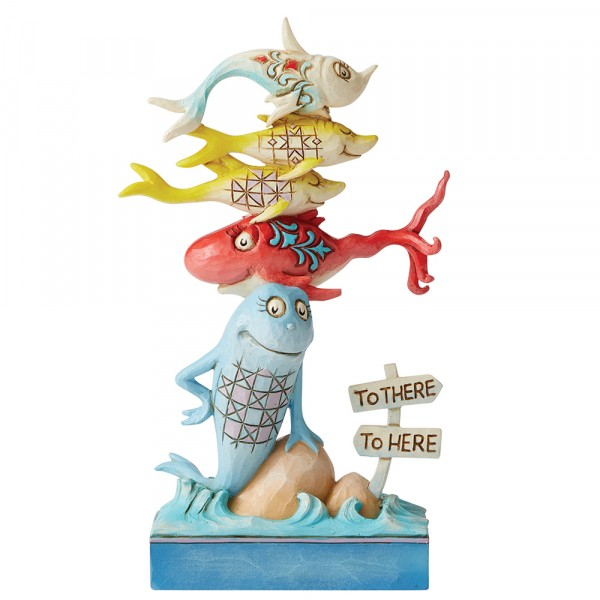 Dr. Seuss, Jim Shore, One Fish, Two Fish, Red Fish, Blue Fish