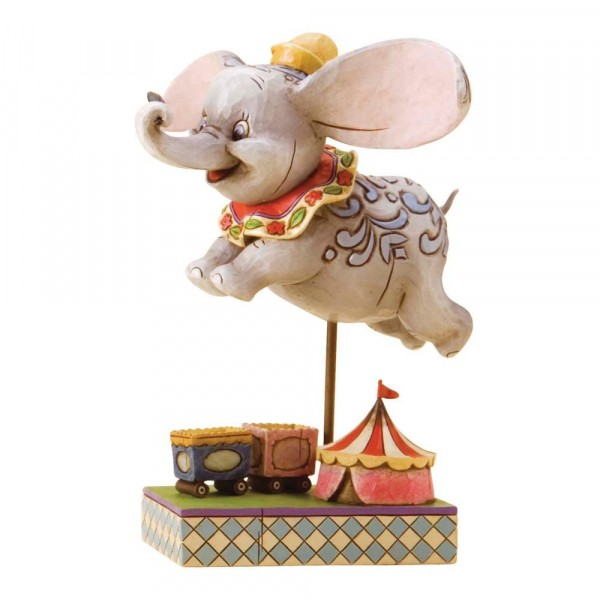 Disney Traditions, Jim Shore - Faith In Flight Dumbo