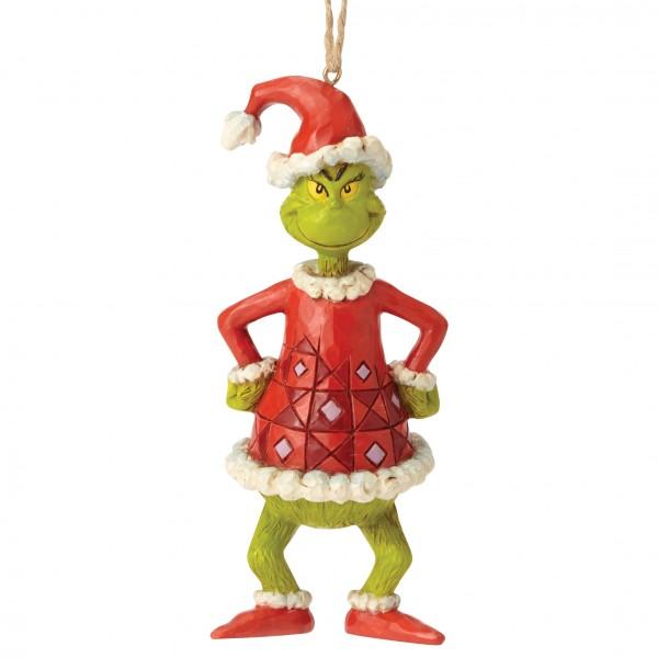 Grinch Dressed as Santa / Grinch als Weihnachtsmann