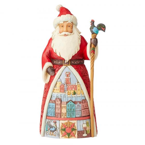 Jim Shore Weihnachten, Heartwood Creek, 6004235, Portuguese Santa, Portugiesischer Weihnachtsmann, Santa, Jim Shore Santa, Jim Shore Weihnachtsmann