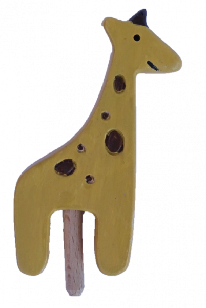 Sebastian Design, Kerzenring, Kerzenringe, Candle Ring, Candlerings, Holzkranz, Steckfigur, Giraffe