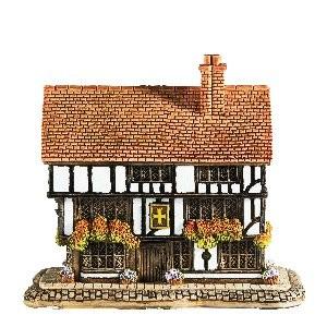 Lilliput Lane, Miniaturhäuser, Miniaturhaus, Cottage, The Golden Cross