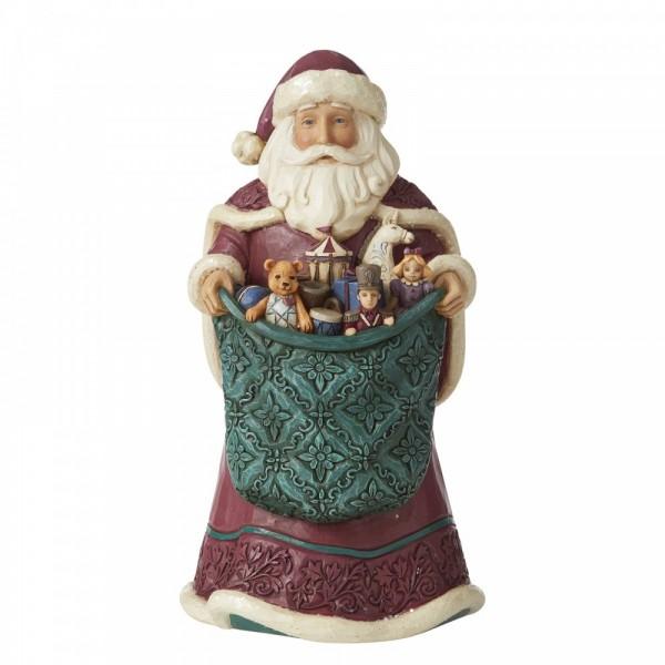 Heartwood Creek, Jim Shore, Rejoice in Giving, Freue dich zu geben, Santa, Weihnachtsmann