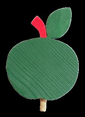 Sebastian Design, Kerzenringe, Holzkränze, Steckfiguren, Apfel grün