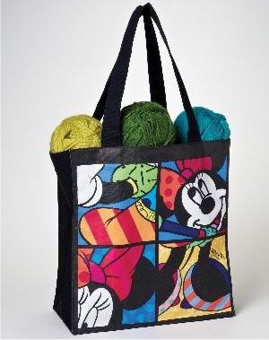 Romero Britto Pop Art aus Miami - Minnie Mouse Bag / Minnie Maus Tasche
