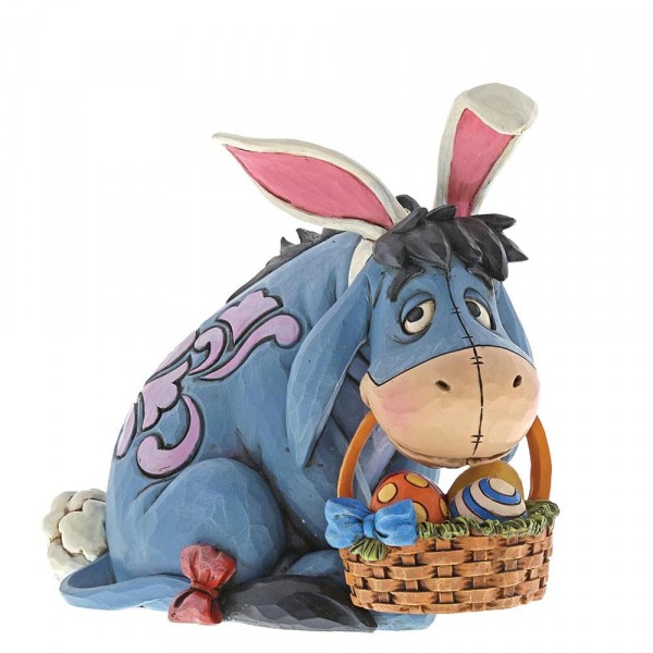 Disney Traditions, Jim Shore, Eeyore Cottontail, Oster-Iah