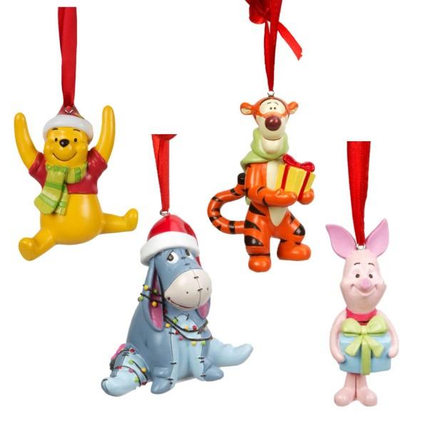 Disney, Walt Disney, Widdop and Co, Disney, Hanging Decoration, Weihnachtsanhänger, Tigger, Winnie Puuh, Piglet, I-Aah, Eeyore, Winnie Pooh,