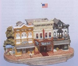 Lilliput Lane, Miniaturhäuser, Miniaturhaus, Cottage, Main Street Cinema