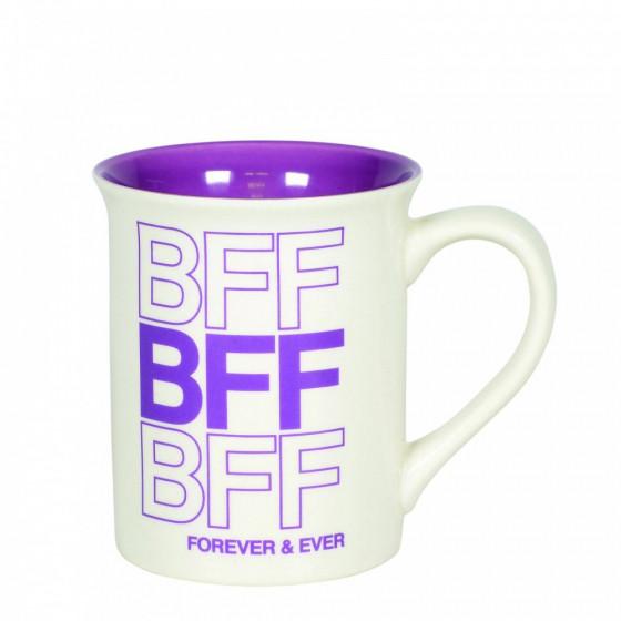 Our Name is Mud, BFF Mug, Best Friends Forever, Becher, Kaffeebecher, Trinkbecher, 6006213