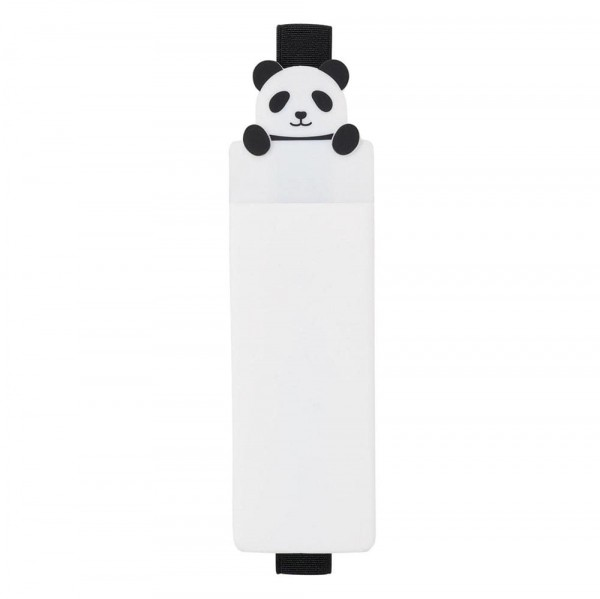 Lihit Lab, Punilabo, Panda Book Band Pen Case, Panda Stifteetui mit Buchband